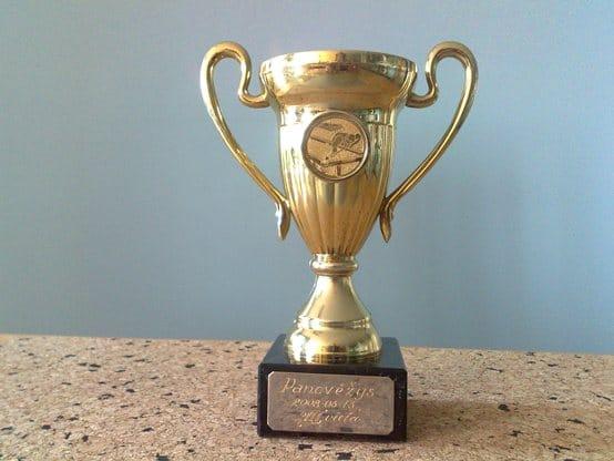 Pulo turnyre laimėjau III vietą !