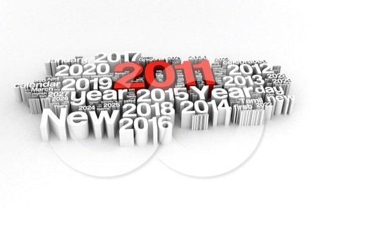 Linkiu 2011 metais Jums …