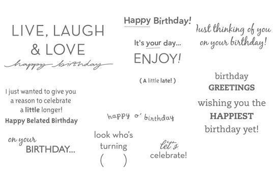 Tavo gimimo diena…