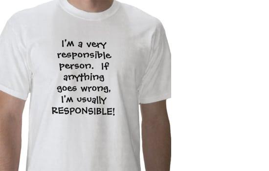 Atsakomybė gyvenime …